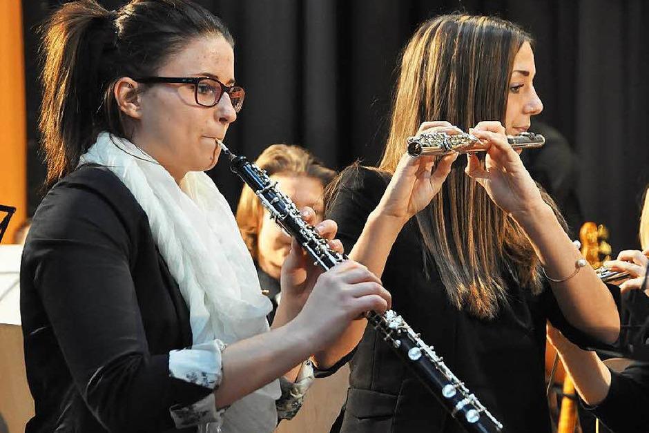 Impressionen von der zentralen Verleihung der Leistungsabzeichen mit Konzert des Jugendorchesters des Alemannischen Musikverbandes (Foto: Daniel Gramespacher)
