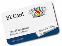 BZCard – die Erlebnis- und Freizeitkarte für BZ-Abonnenten