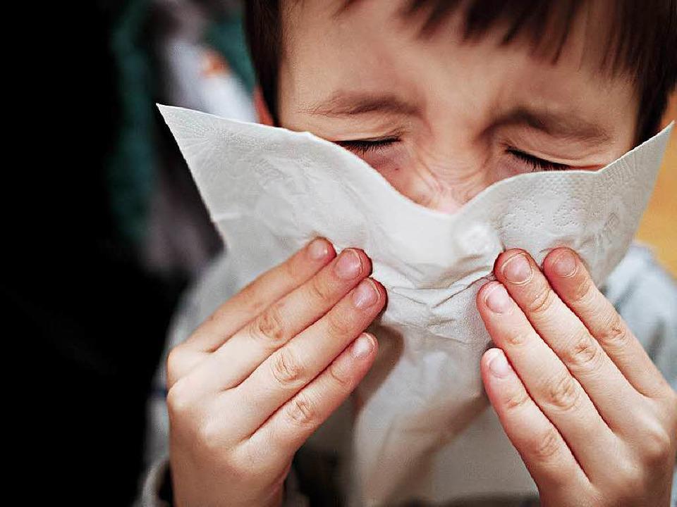 Gegen eine Erkältung ist kein Kraut ge... die Symptome können gelindert werden.  | Foto: dpa