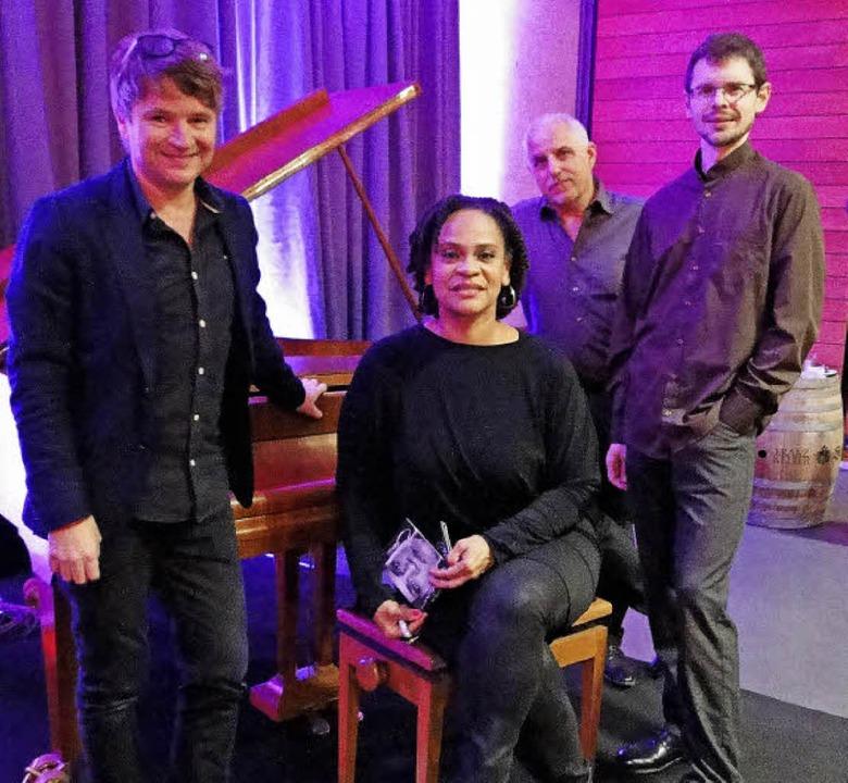 Das Cécile Verny Quartet musizierte  i...t großem Erfolg für einen guten Zweck.  | Foto: Elisabeth Saller