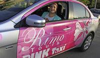 Pinke Taxis sch�tzen vor Bel�stigung