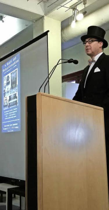 Jörg Frenzel leitete die Auktion gewohnt souverän.   | Foto: privat