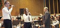 Zwei Kapellen, ein Dirigent, ein Konzert