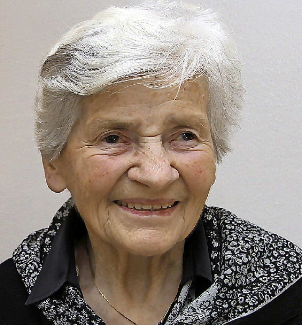 <b>Maria Baumgartner</b> feierte ihren 90. Geburtstag. Foto: Trogus - 114894612