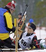 Martin Fleig beweist beim Weltcup eine ruhige Hand am Schießstand
