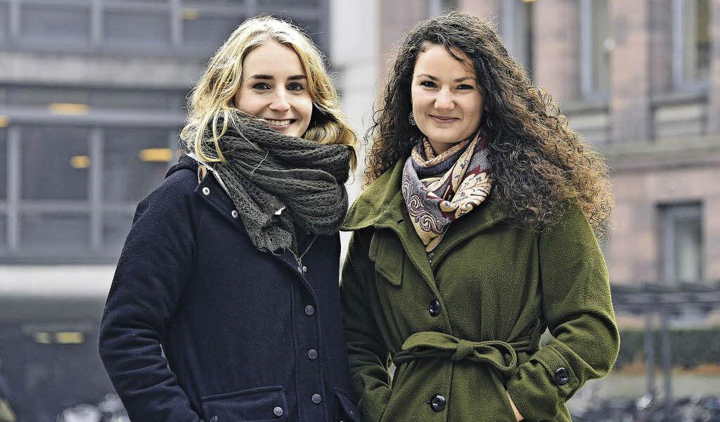 freiburg zwei studentinnen unterstuetzen ihrer organisation fluechtlinge balkanroute