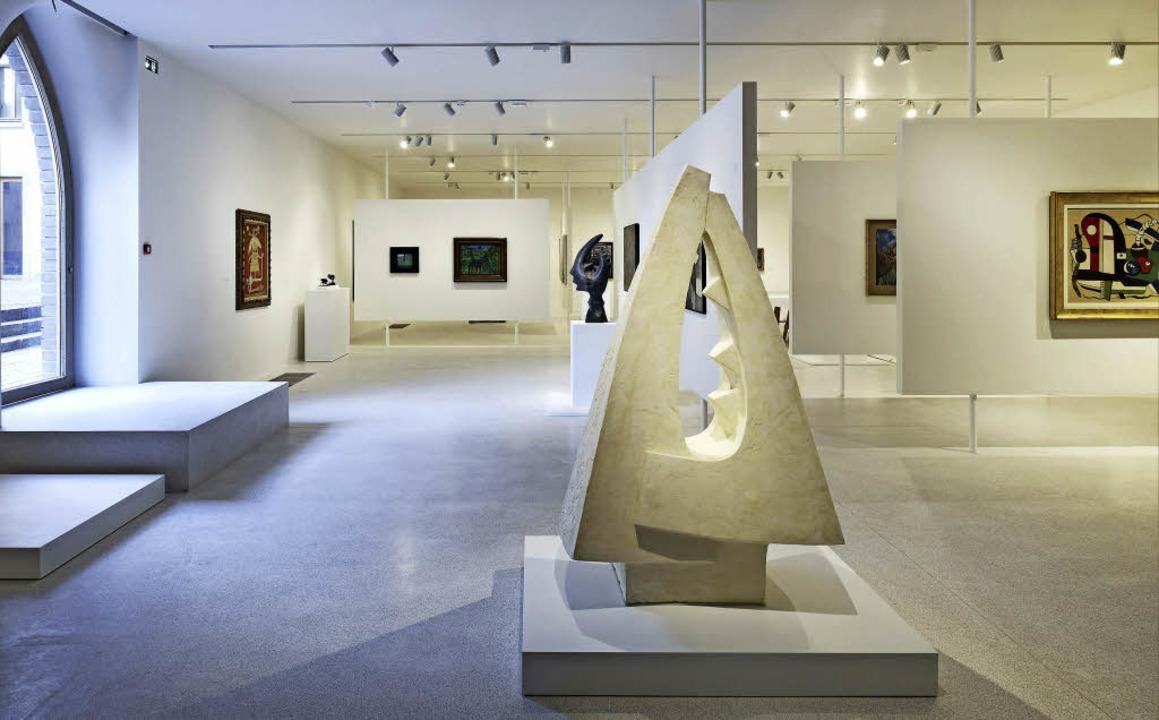 Licht und großflächig: die Präsentation der modernen Sammlung  | Foto: Musée Unterlinden