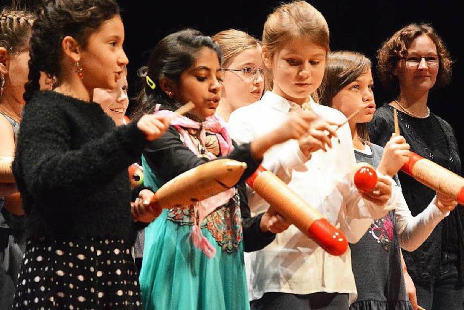 Klassenorchester der Hebelschule (Foto: Barbara Ruda)