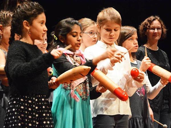 Klassenorchester der Hebelschule
