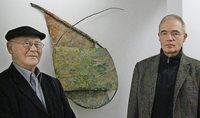 Josef Bücheler und Michael Blum im Museum für aktuelle Kunst Durbach