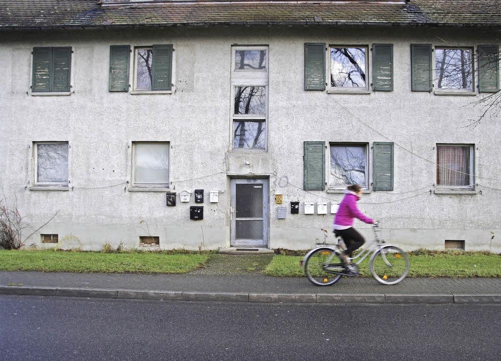Zurzeit leben in dem Haus in der Eisen...sollen dort neue Wohnungen entstehen.   | Foto: M. Pfefferle