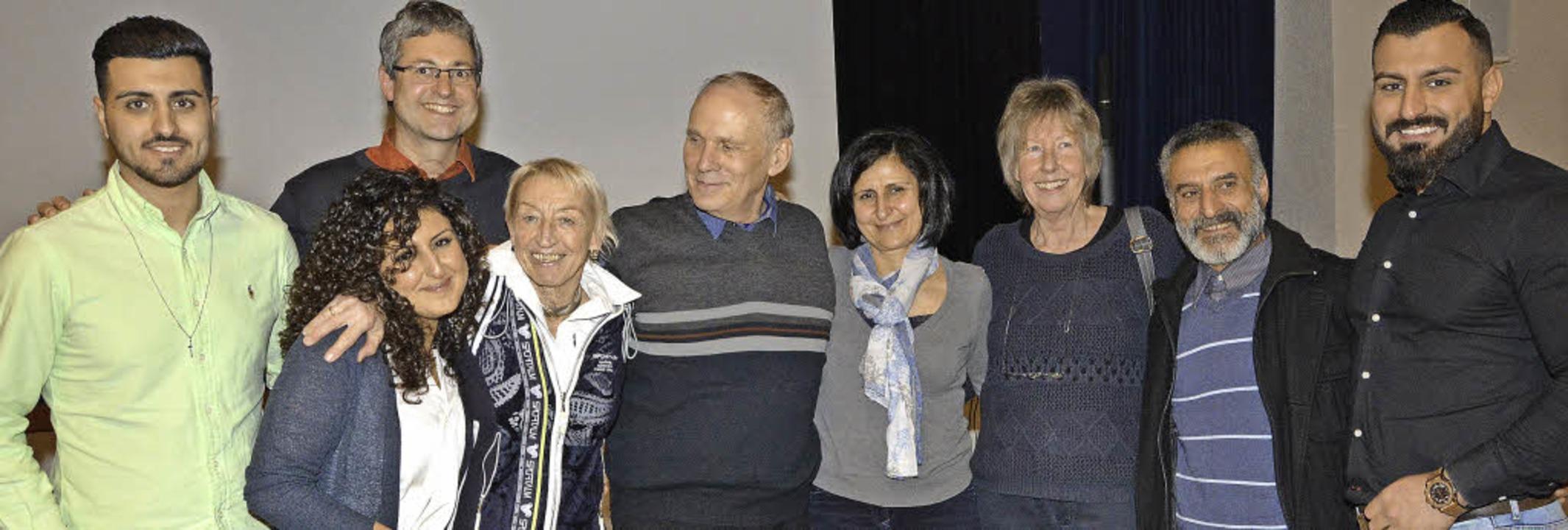 Vor zehn Jahren lebte Familie Murad se...mar Henninger, Sami und Schukri Murad   | Foto: Danielle Hirschberger