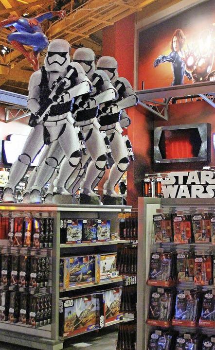 Alle wollen mitverdienen an Star Wars.  | Foto: dpa