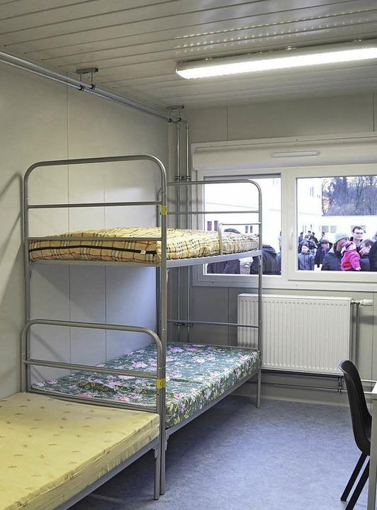 b rgermeister metz sieht keine alternative zu wohncontainern ettenheim badische zeitung. Black Bedroom Furniture Sets. Home Design Ideas