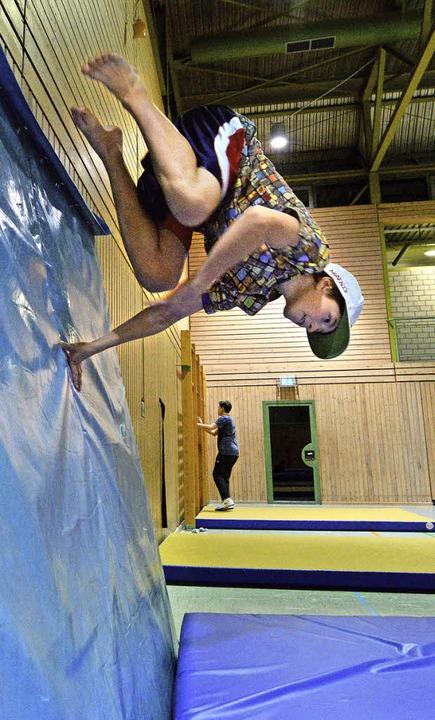 Phönix traut sich – und springt.     Foto: Rita Eggstein