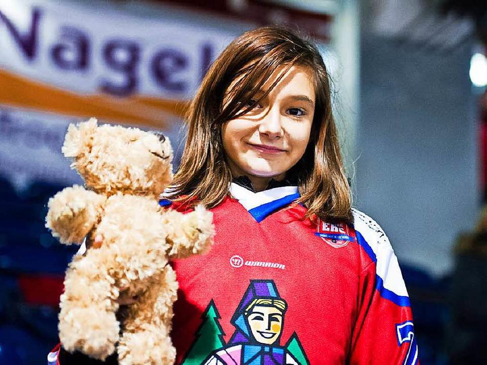 Laura und ich beim Teddy Bear Toss.  | Foto: Miroslav Dakov