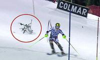 Drohnen-Absturz schockt Alpin-Stars