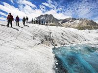 Das Gletschersterben macht den Klimawandel greifbar