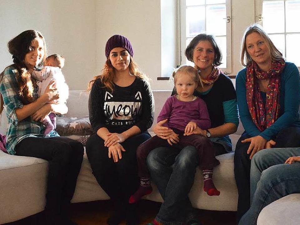 Gemeinschaft in der Kommunität Beuggen...sim, Julia Hinderer, Cordula  Fassmann  | Foto: Ingrid Böhm-Jacob