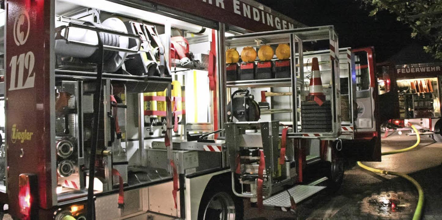45 Mal rückte die Endinger Feuerwehr 2015 aus, darunter zu zehn Brandeinsätzen.   | Foto: Archivfoto: Martin Wendel