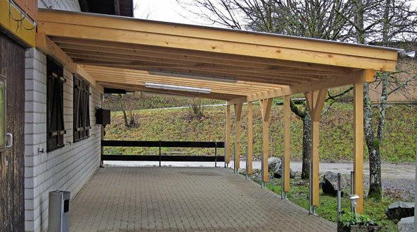 wehr zum jubil um ein dach f r die terrasse badische. Black Bedroom Furniture Sets. Home Design Ideas