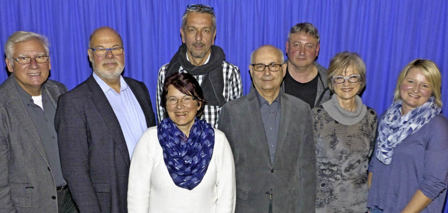 Ortsvorsteher Fred Thelen (von links) ...ochim und Schriftführerin Yvonne Kuny   | Foto: Marion Rank