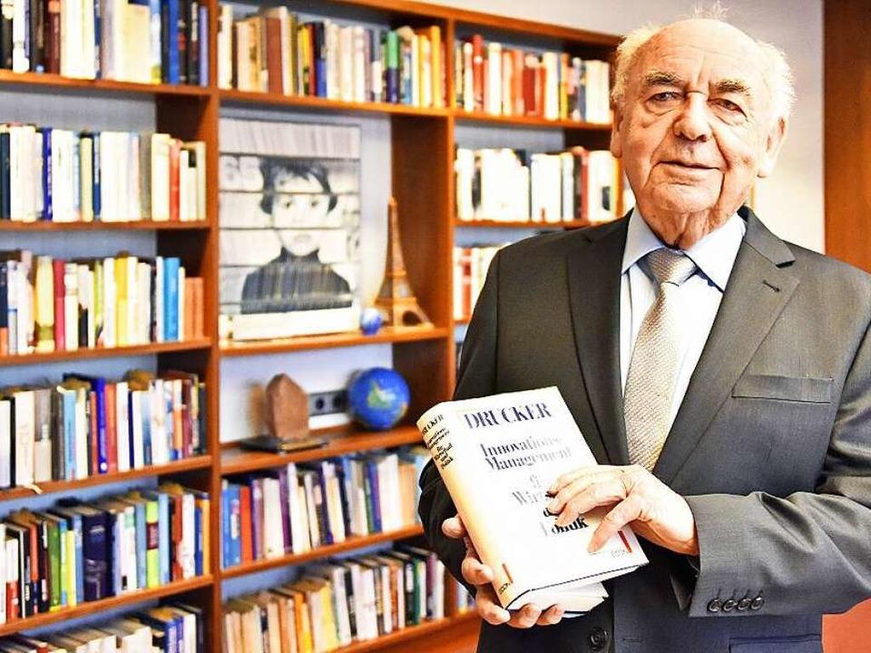 Er weiß, was Unfreiheit bedeutet: Werner Thieme  | Foto: Michael Bamberger