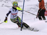 Hohe Ausfallquote im Slalom, solide im Riesentorlauf