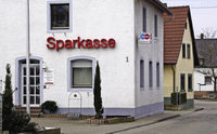 Sparkasse schlie�t Zweigstelle in Weisweil