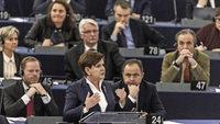 Polnische Ministerpr�sidentin weist Kritik an ihrer Regierung zur�ck