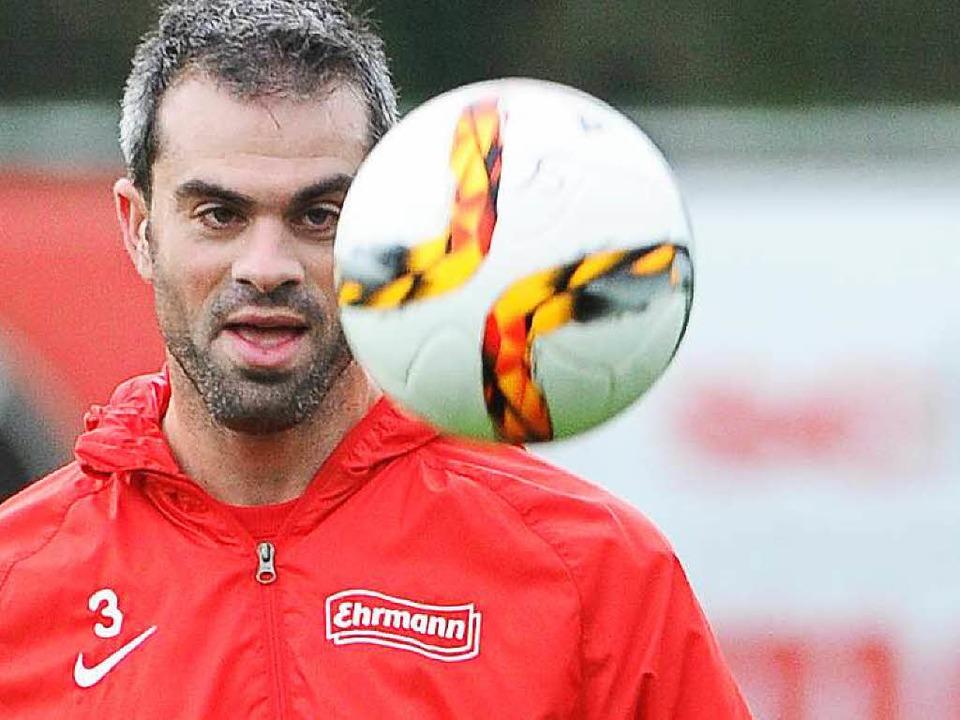 Will mit dem SC zurück in Liga eins: Marc Torrejón  | Foto: Keller
