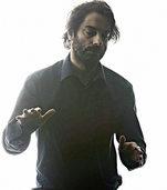 Der Z�rcher Discjockey Kalabrese spielt in Basel