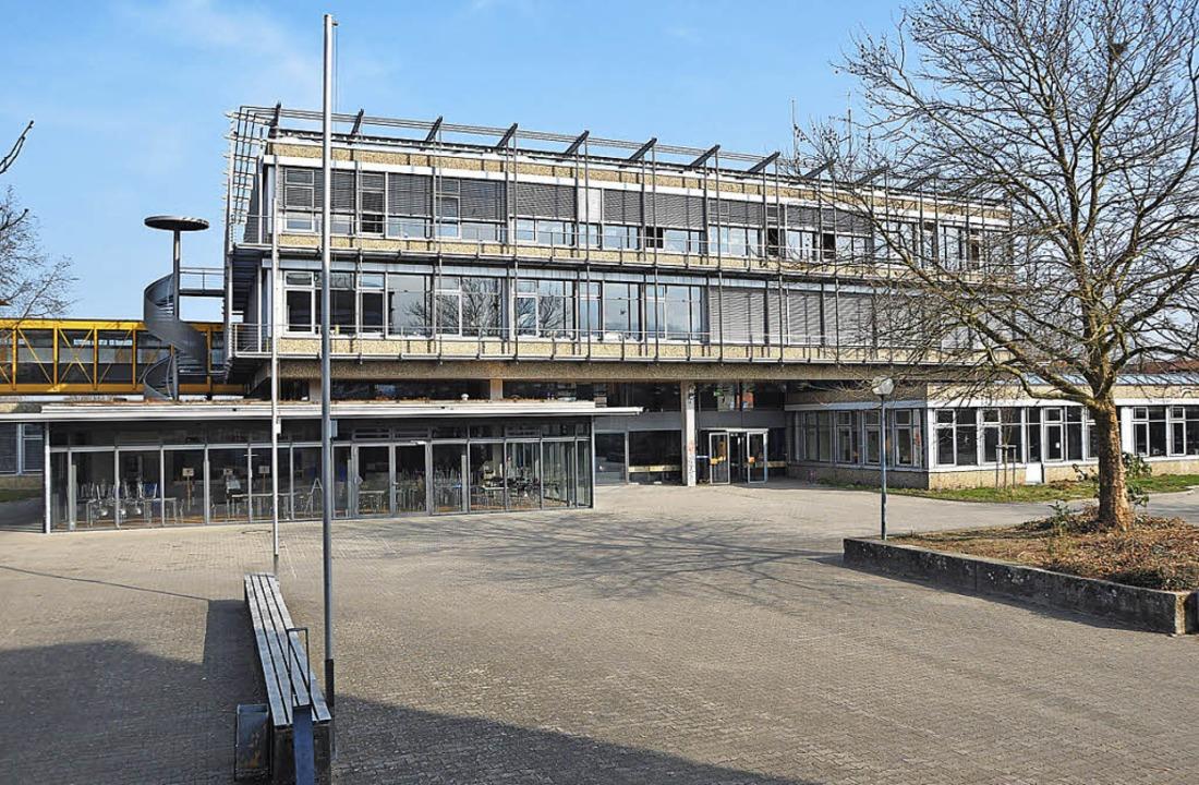 Das Faust-Gymnasium kommt als Ausweich...e, wie das Landratsamt mitgeteilt hat.  | Foto: Rainer Ruther