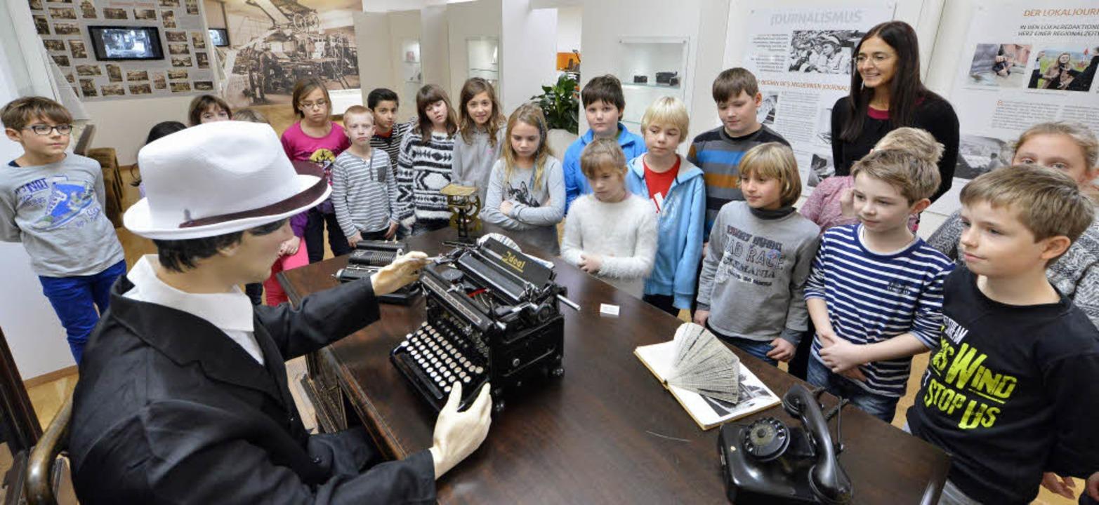 Einige Zisch-Schulklassen haben das Museum schon besichtigt.    Foto: Michael Bamberger