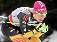 Stefanie Böhler als 16. beste deutsche Läuferin in Nové Mesto