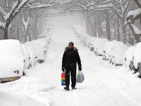 "Fotos: ""Snowzilla"" legt New York und Washington lahm"