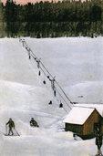 Wie der Schollacher Schneckenhofwirt Robert Winterhalder den Skilift erfand