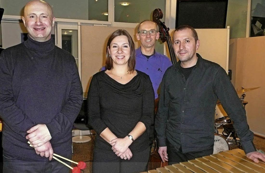 Die Gareth-Reaks-Combo beeindruckte im...tova, Andres Buchholz und Eric Karle.   | Foto: Annette PreuSS
