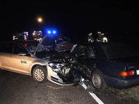 Zwei Verletzte nach Unfall zwischen Feldkirch und Hausen