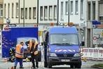 Fotos: Gas-Alarm in der Freiburger Innenstadt