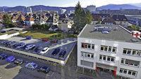 DRK-Tiefgarage im Stadtteil Mooswald wird zum Wohnhaus aufgestockt