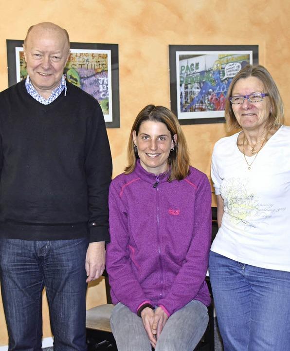 Das Verwaltungsteam der Musikschule Rh...ich, Tanja Baumann, Sibylle Rauleder.   | Foto: Sarah Nöltner