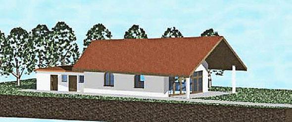 standort f r aussegnungshalle gresgen oberhalb des friedhofs zell im wiesental badische zeitung. Black Bedroom Furniture Sets. Home Design Ideas