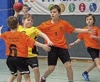 Handballnachwuchs zeigt sein K�nnen