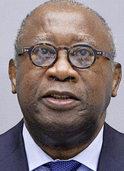 Der Ex-Pr�sident der Elfenbeink�ste, Laurent Gbagbo, steht vor Gericht