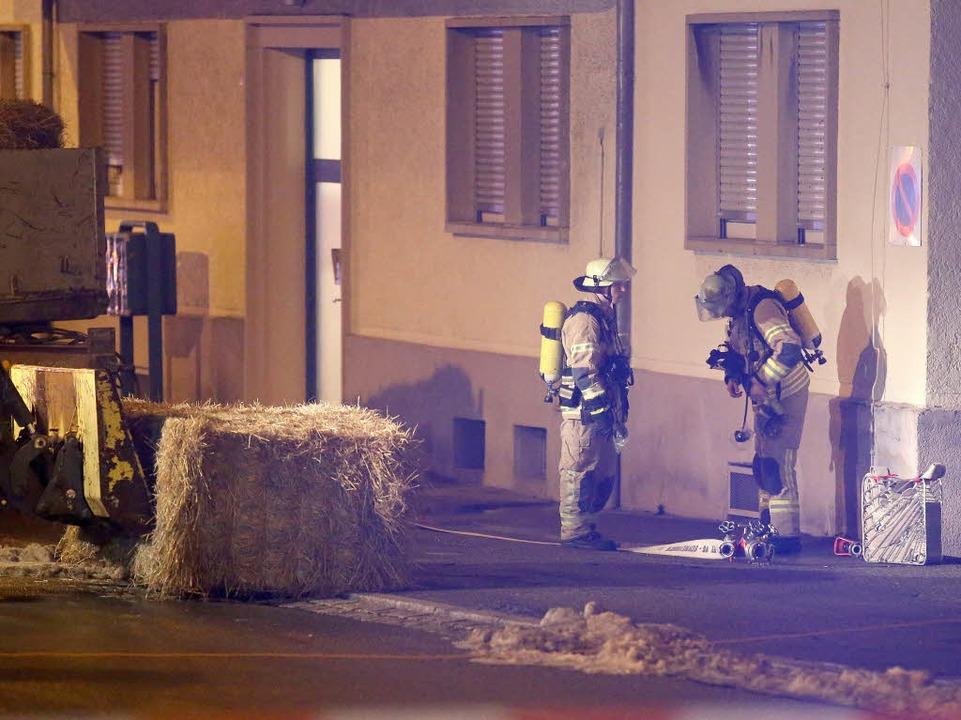 Unbekannte haben eine Handgranate auf ...lingsunterkunft in Villingen geworfen.  | Foto: dpa
