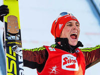 Frenzel gewinnt Seefeld-Triple, Rießle dreimal Dritter