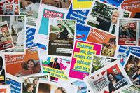 Parteien d�rfen jetzt ihre Wahlplakate aufh�ngen