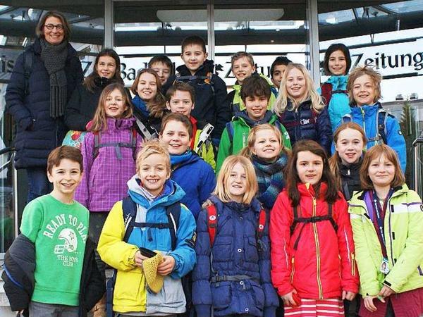 Klasse 4a der  Emil-Thoma-Schule Freiburg