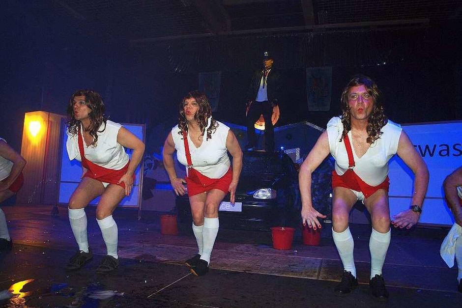 Szenen aus der Prunksitzung der Herbolzheimer Karnevalsgesellschaft (Foto: Michael Haberer)